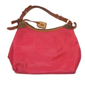 Dooney & Bourke Erica Hobo Red Shoulder Bag Purse